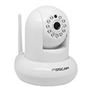 Caméra motorisée HD 720p infrarouge 8m 30fps Foscam FI9821PW - blanc