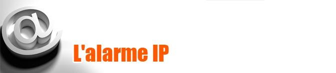 Alarme IP