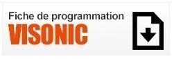 Fiche de Programmation Visonic