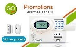Promotions alarmes sans fil