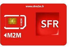 Tarifs carte SIM SFR M2M pour alarme