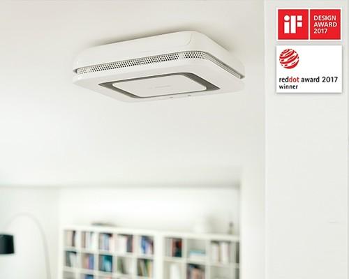 système domotique Bosch Smart Home - détecteur avertisseur de fumée twinguard