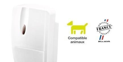 Détecteur de mouvement compatible animaux DIAG21AVK