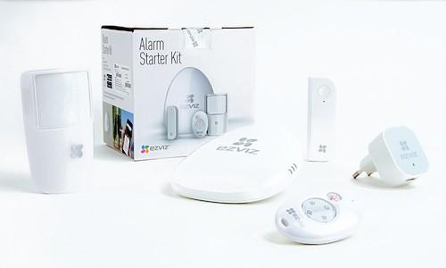 kit alarme connectée