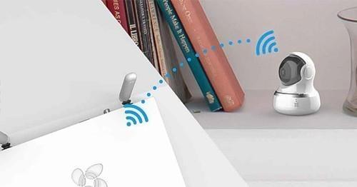 Enregistreur vidéo Wi-Fi 8 canaux + disque dur 1 To - Ezviz X5C