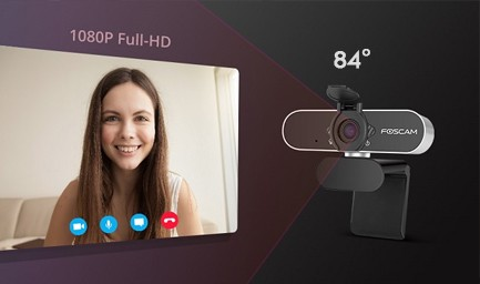 Placement polyvalent Webcam Foscam