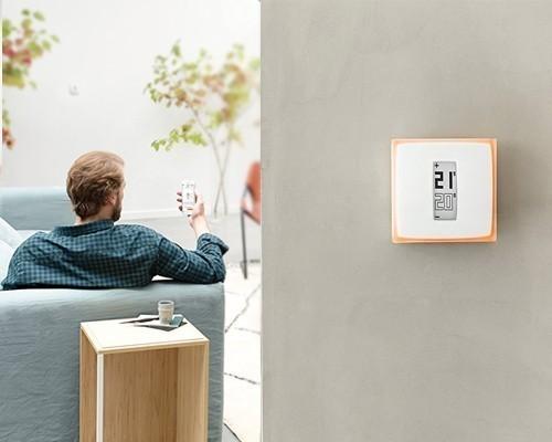 thermostat connect netatmo cfp s curit. Black Bedroom Furniture Sets. Home Design Ideas