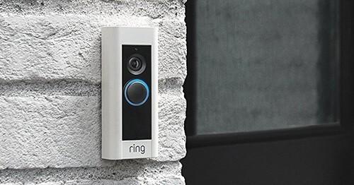 >Portier vidéo Ring Doorbell pro