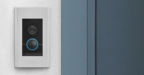 >Portier vidéo Ring Doorbell Elite