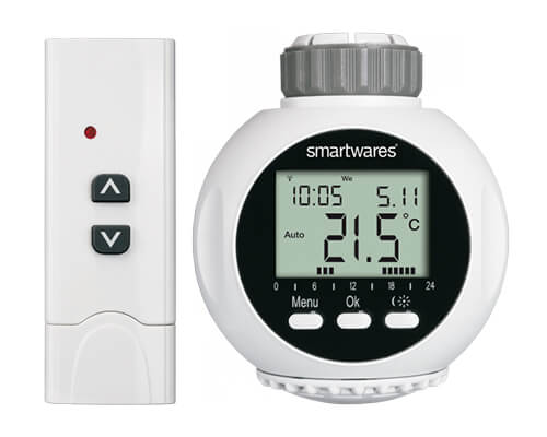 thermostat de radiateur connecté