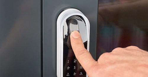 Touchpad biométrique ENTR code - Vachette