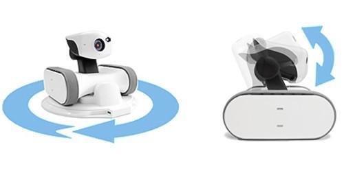 Robot vidéo compact et agile